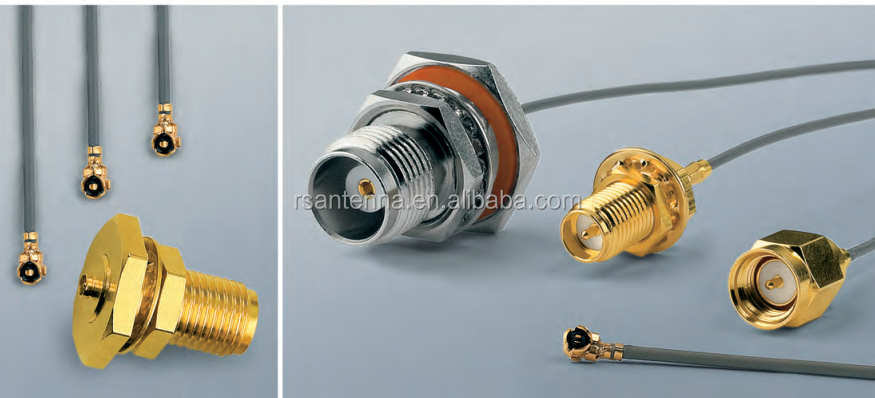 antenna connector SMA SMB MCX FAKRA