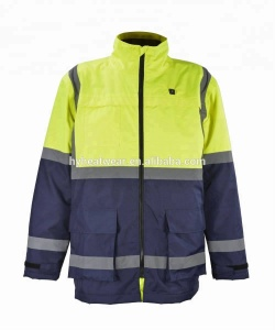 work clothes,rechargeable battery heated safety workwear uniforms/construction work wear