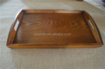 Antique Rectangle Wooden Tray With Handle Antique Wooden Serving Tray With Handles Buy Carrying Tray With Handle Wood Barware Serving Tray Bent