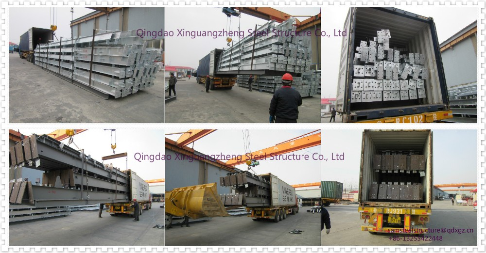 Cheap lightweight iso steel strucutre warehouse