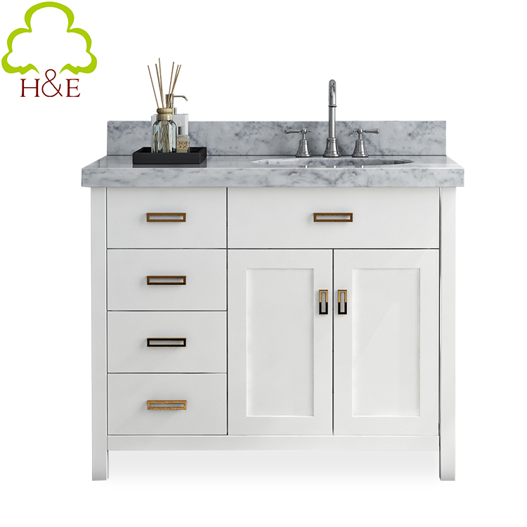 Modern White Bath Vanity Furniture