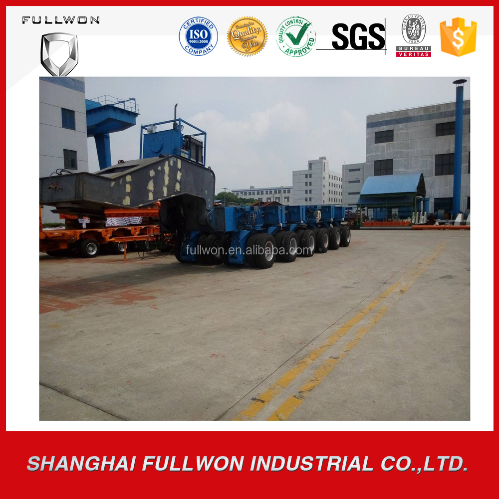 "Factory Directly POWERCHINA ""3.6m"" Series Hydraulic Full Trailer truck"