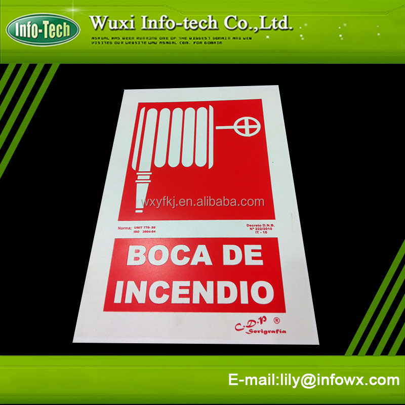 Photoluminescent Iso Fire Safety Signs Signage Symbols Buy
