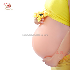 2000g Artificial Baby Tummy, Belly Fake Pregnancy, Pregnant Bump Silicone belly