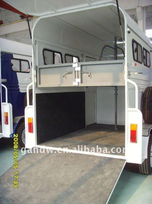 Horse Trailer Back ramp door