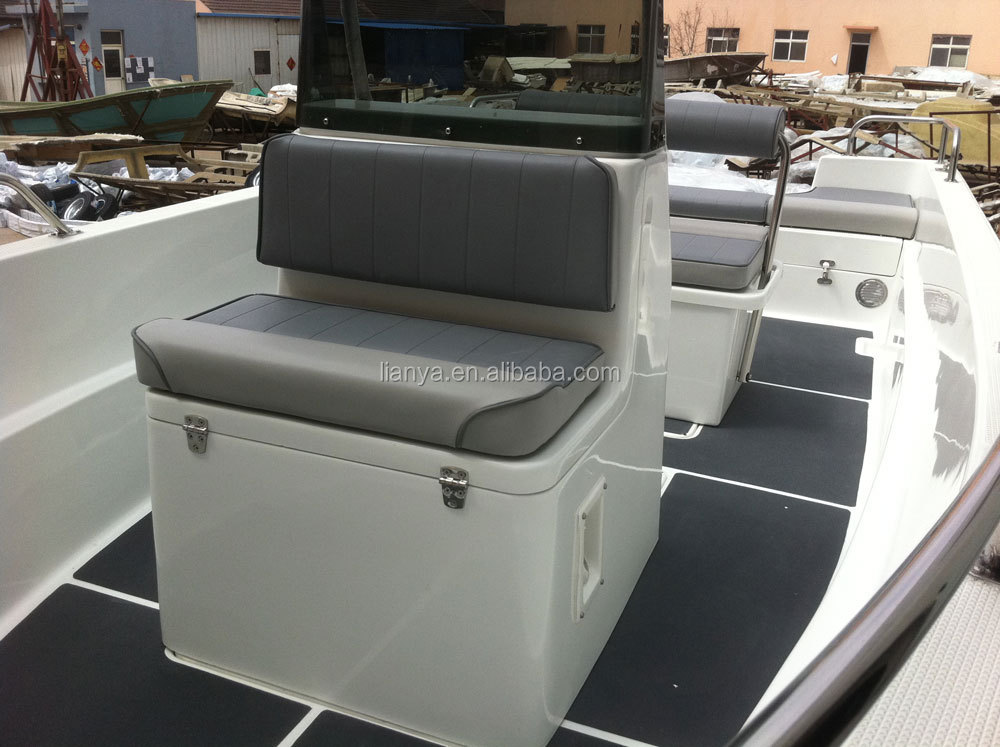 Liya 5 1m Cheap Fibreglass Fishing Boat Centre Console