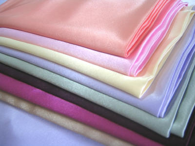 Satin Fabric Laminated With Lining For Shoes And Slippers