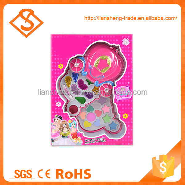 New design colorful girls kids toy makeup kit