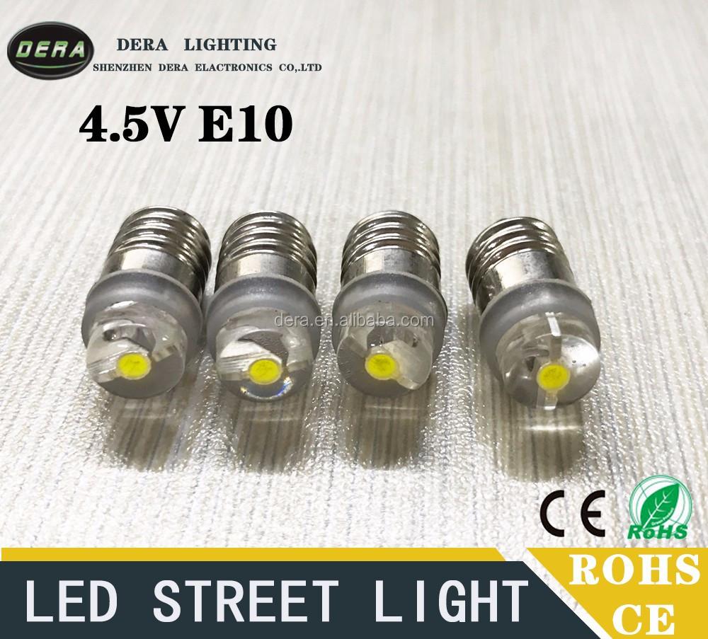 Best Selling 0.5w E10 4.5v 5v Led Mini Flashlight Powerful Led ...