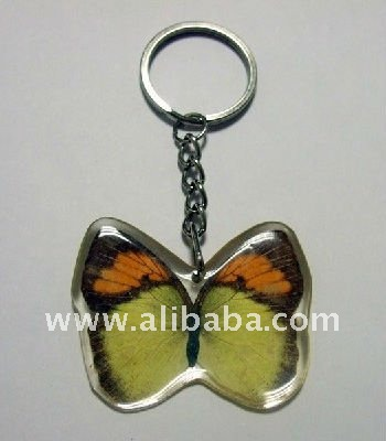 real butterfly in resin keychains,keyring,Anniversary gifts(crafts,gifts,souvenir ,novelties,gift promotion)