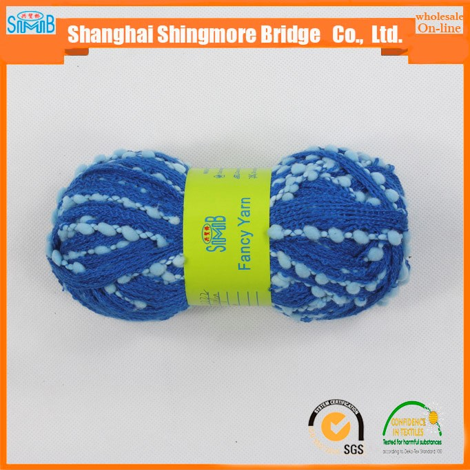 China supplier net yarn factory hot wholesale fishing net yarn knitting scarf yarn for crochet