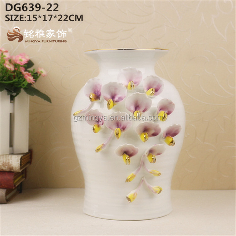 Alibaba & Beautiful Flower Vase Ceramic Material Wholesale Flower Pottery For Home Decoration - Buy Large Flower VasesAntique Ceramic Flower VasesFloor ...