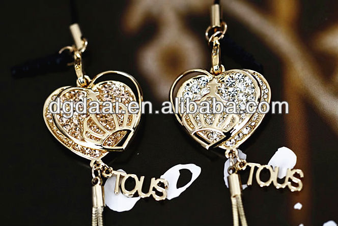 2013 Top design cell phone charms