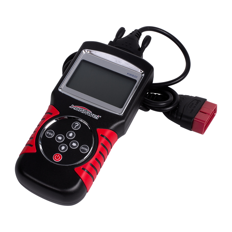 Konnwei KW820 OBD OBDII 엔진 진단-Buy7days Code Reader Tool 대 한 차/차량 온라인 Multi-Language Tool