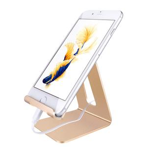 Aluminum Mobile Phone Holder cradle for iPhone 5S SE 6 6S 7 7plus Cell Phone Desk Stand for Samsung S7 S6 Edge Note 7