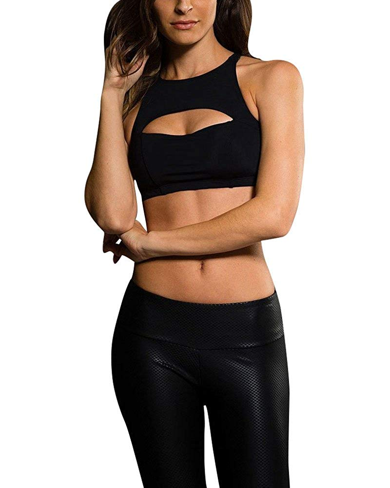 e11ea1bd08 Get Quotations · Onzie Hot Yoga Open Heart Bra 3039 Black