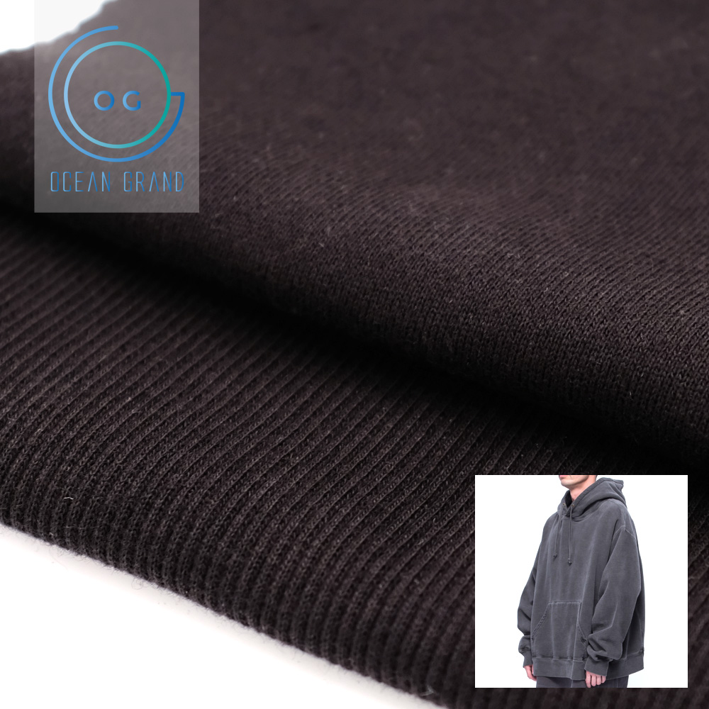 Taiwan 100 Cotton 400gsm French Terry Knit Fabric for Hoodies