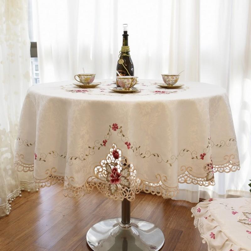 Luxury Fashion Round Table Cloth Fashion Cloth Dining
