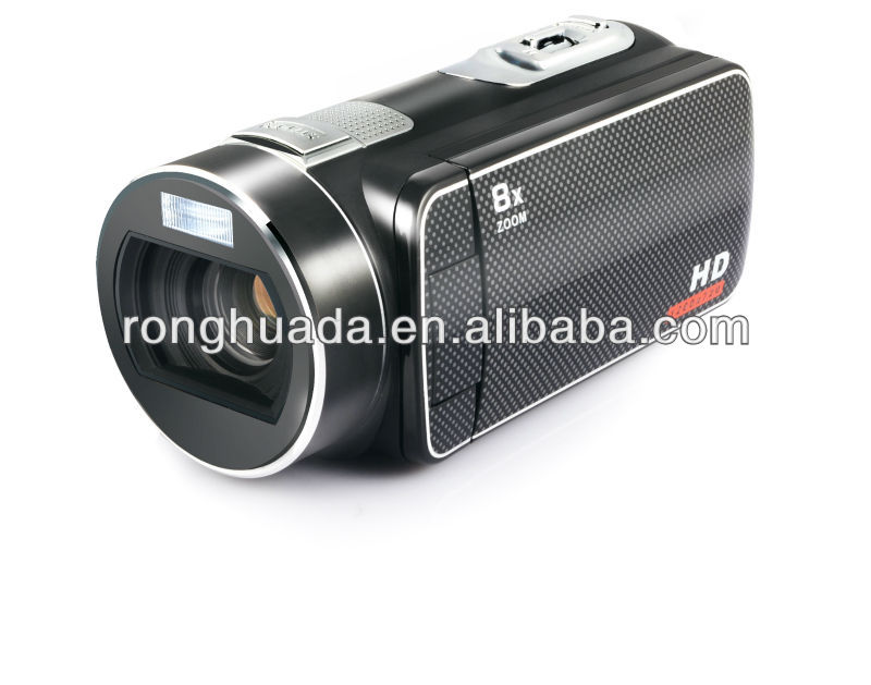 hot sale digital video camera 720P 3 inch display 8X digital zoom beautiful many function PC camera using
