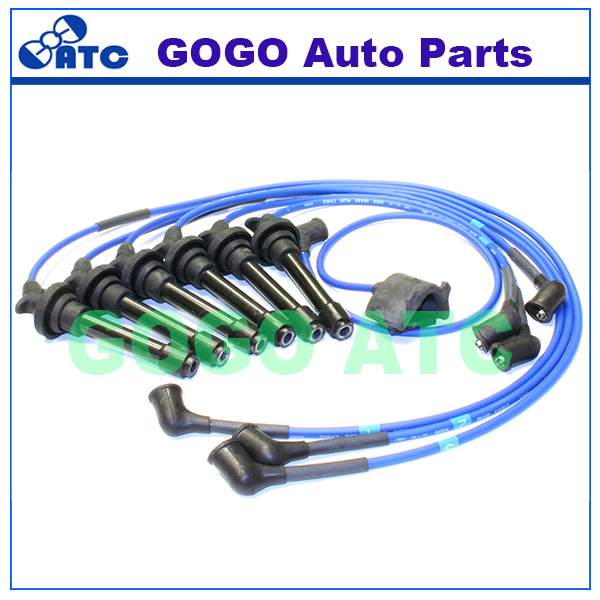 Spark Plug Ignition Wire Set For Acura Legend Oem He49
