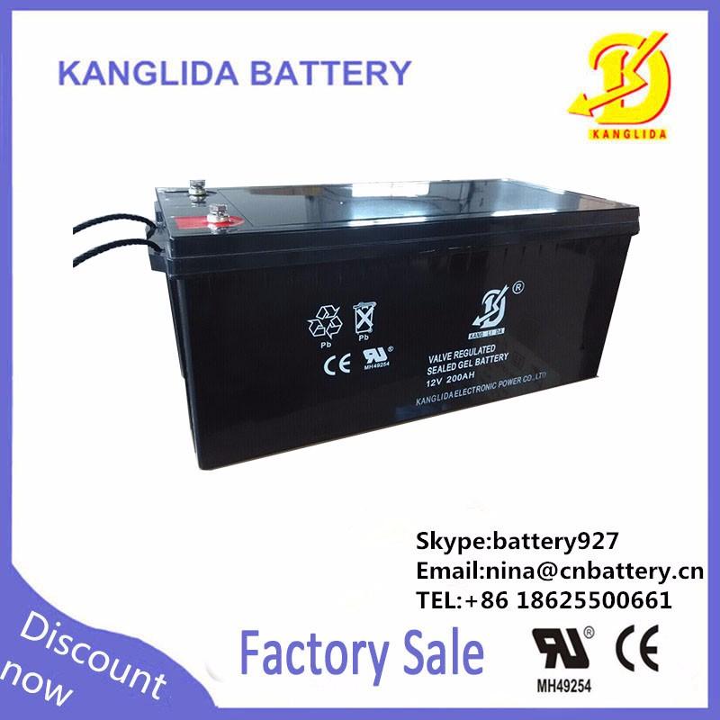 Sealed Lead Acid Battery 12v 200ah Solar Panels For Home China ...