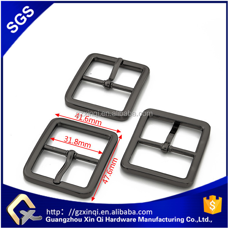 customer logo adjustable metal belt buckle parts for bag accessory wholesale