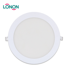 Factory Price Ultra Slim Round 3w 6w 12w 18w Recessed Led Panel Led Light