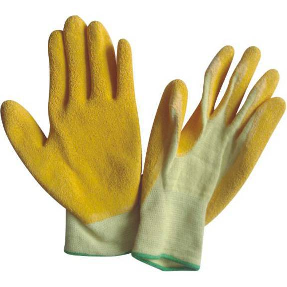 13 Guage Aramid Fiber Latex Coated Working Gloves