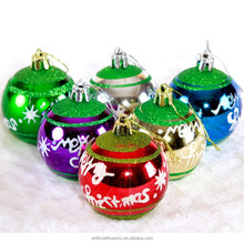 wholesale cheap clear plain plastic hanging Christmas ornaments balls