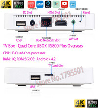 2016 Newest IPTV UBOX II Gen.2 S800 Plus Android TV Box HD UNBLOCK Smart TV Box Network WiFi Use all Overseas for Ethnic Chinese