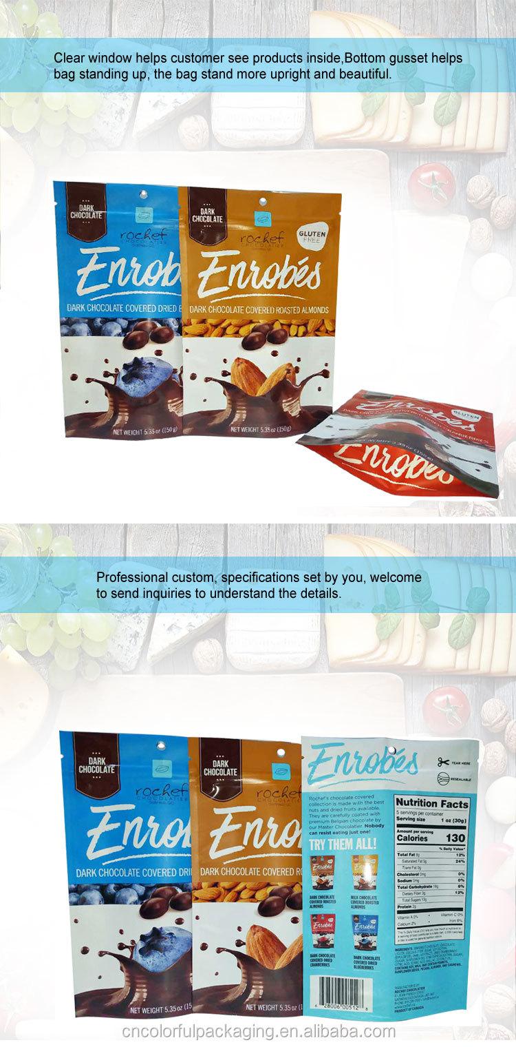Oem Offered Custom Printed Food Grade Hot Plastic Snack
