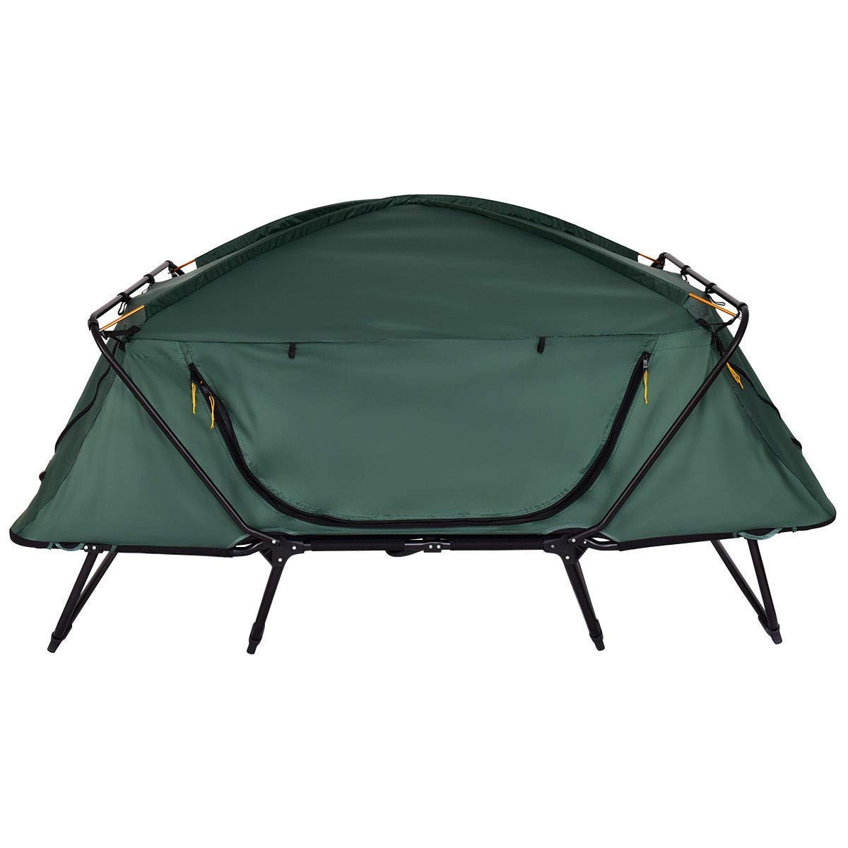 BeUniqueToday 2 Person Waterproof Folding Camping Tent with Carry Bag, Lightweight Aluminum Frame Waterproof Folding Camping Tent, Quick and Easy Setting 2 Person Waterproof Folding Camping Tent