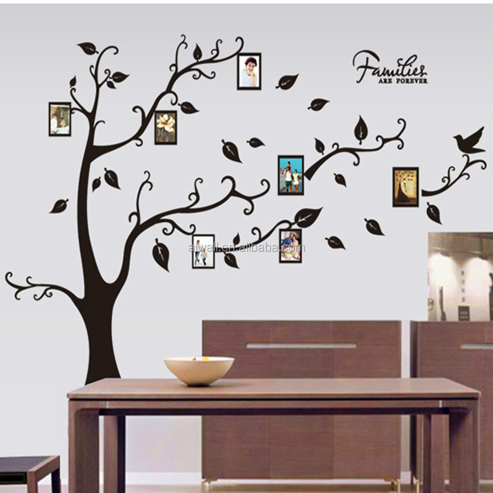 Tree Design Wallpaper Living Room Large Wall Stickers For Living Room Yes Yes Go