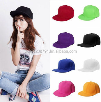 0ade104b275 Wholesale Plain Snapback Hats Flat Peak Baseball Caps Hip Hop Funky Retro  Vintage Unisex