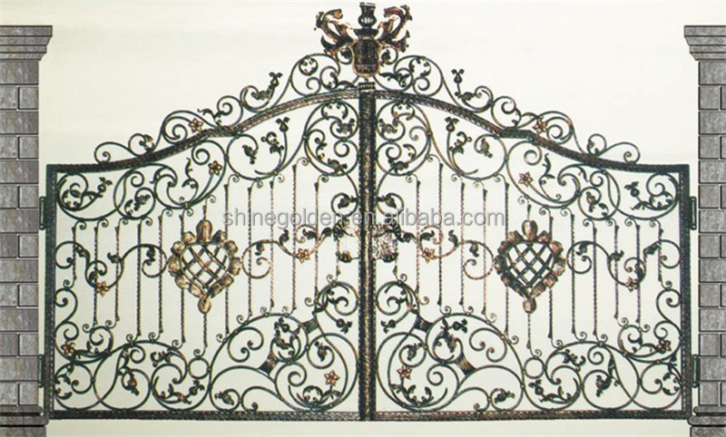 Driveway Gate House Design Art Gate Designs For Homes - Buy Luxury ...