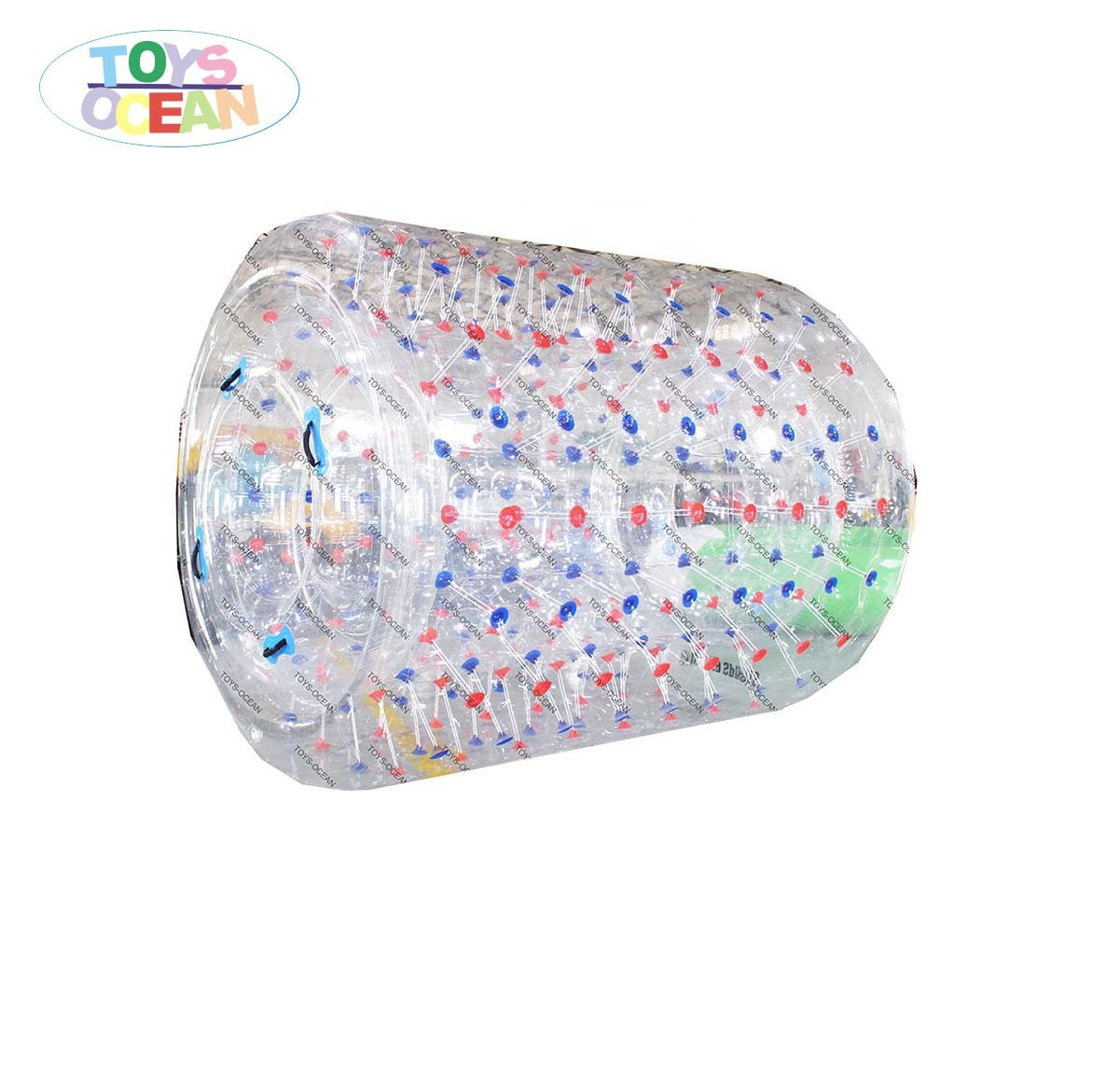 Floating inflatable clear zorb ball Cylinder Roller for water play fun