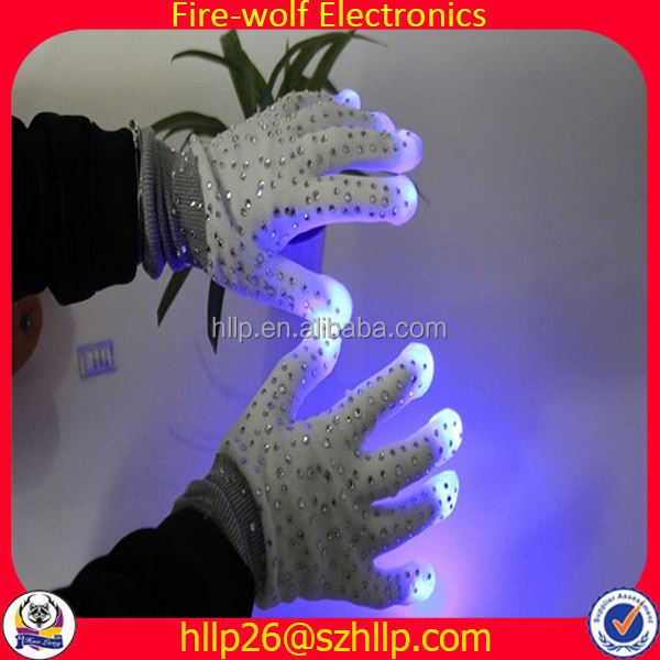 News From China Night Light Glove With Led Light Manufacturer