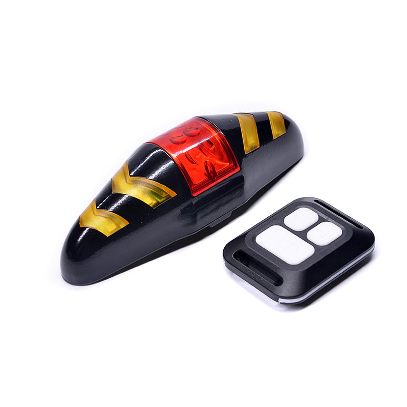 Hot Sale  Remote  Control Turning Waterproof  Bicycle Light Bike Tail Light Bicycle Rear