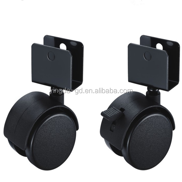 Heavy duty caster wheel/small furniture wheels/chair leg casters