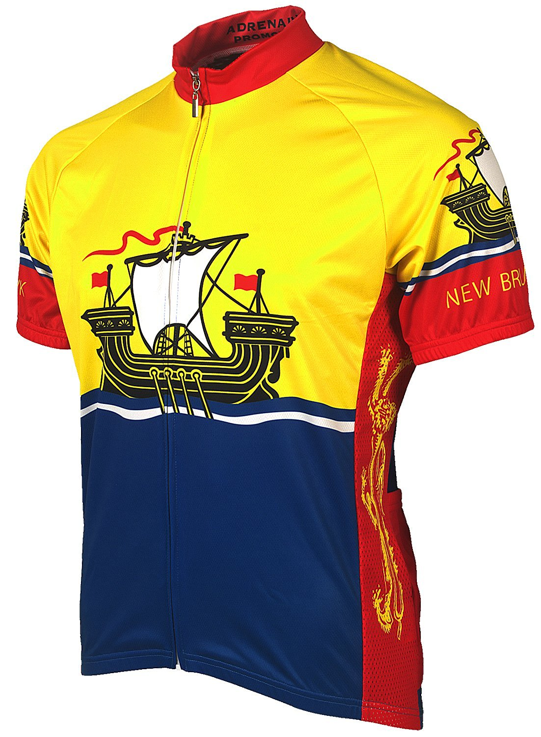 Adrenaline Promotions Canadian Provinces Quebec Cycling Jersey