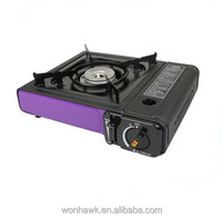 table top cooking portable mini gas stove and cylinder