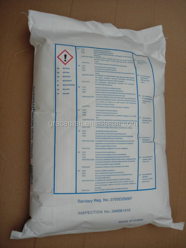 Acide citrique monohydrat acide citrique anhydre buy - Acide citrique anhydre ...