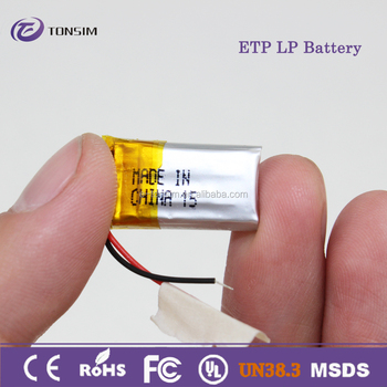 401120 li-ion battery 3.7v 4.2v 7.4v lipo battery 50mah lithium polymer battery with OEM service for bluetooth headset