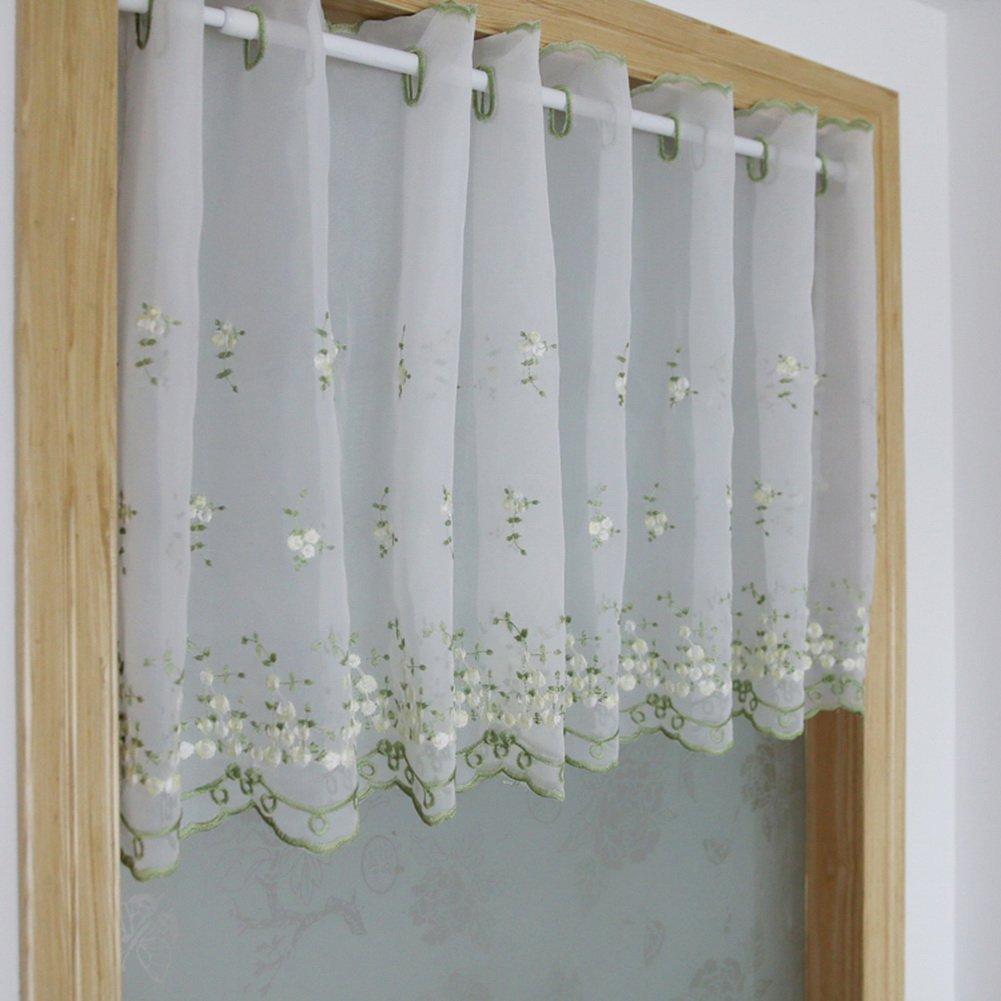 floral window valances get quotations set of white sheer daffodil valances floral window cheap valances find deals on