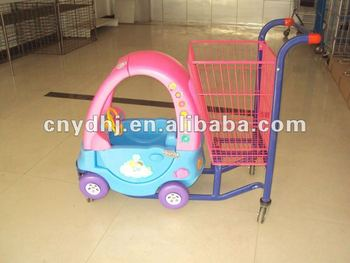 Supermarket Baby Car Seat Trolley YD 0128