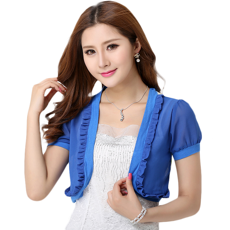 Buy New 2015 Fashion Women Summer Jackets Casual Ladies Short