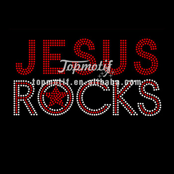 Wholesale rhinestone motif jesus rocks hotfix rhinestone for Rhinestone template material wholesale