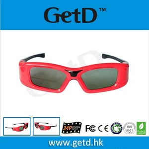 Perfect 3D vision effect under lightweight 3D glasses GT410