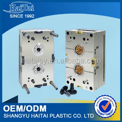 Polyester casting resin molds
