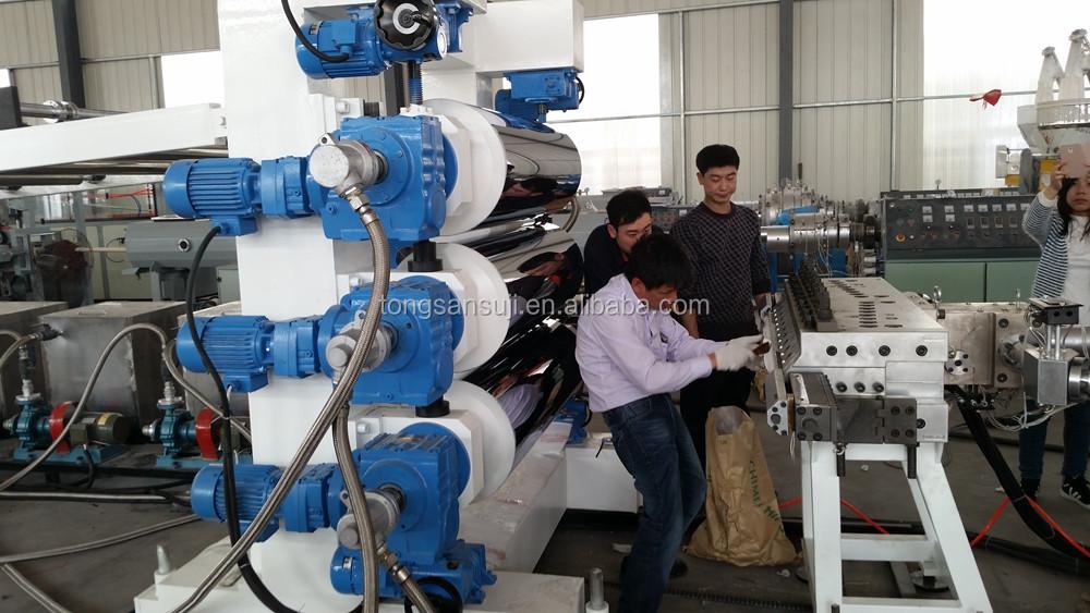three roller calendaring machine for Plastic sheet extrusion machine (2).jpg